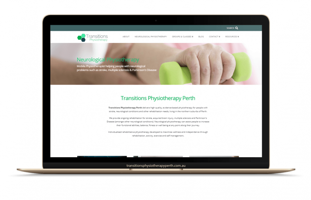 transitions physiotherapy homepage