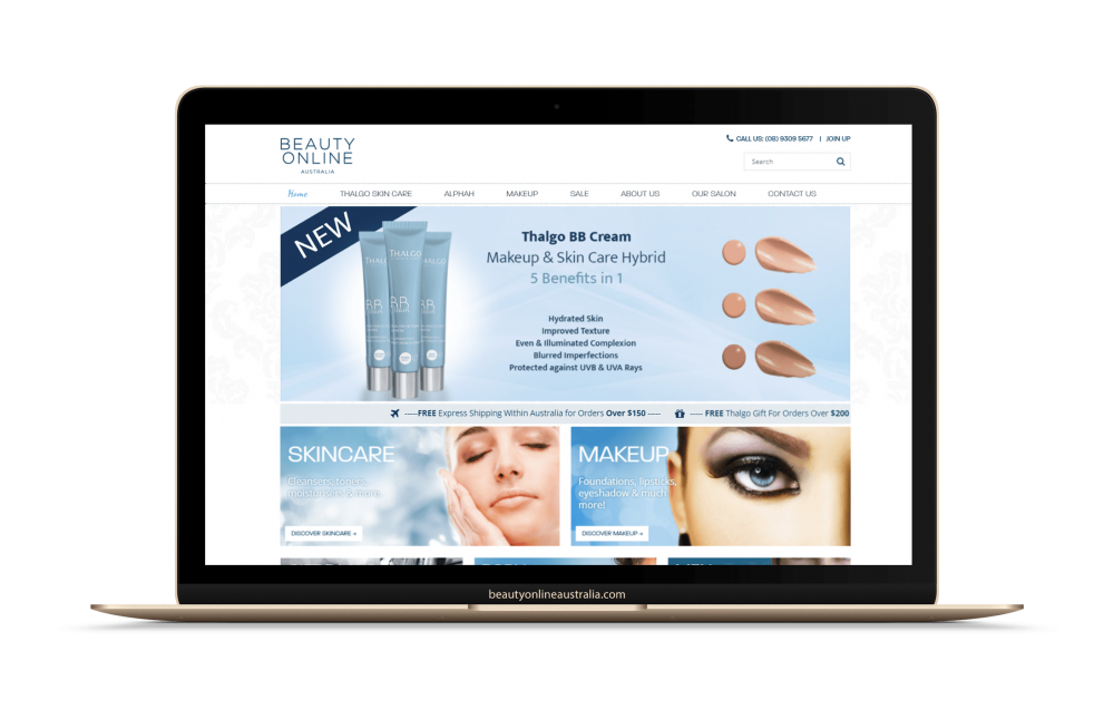 beauty online compressor
