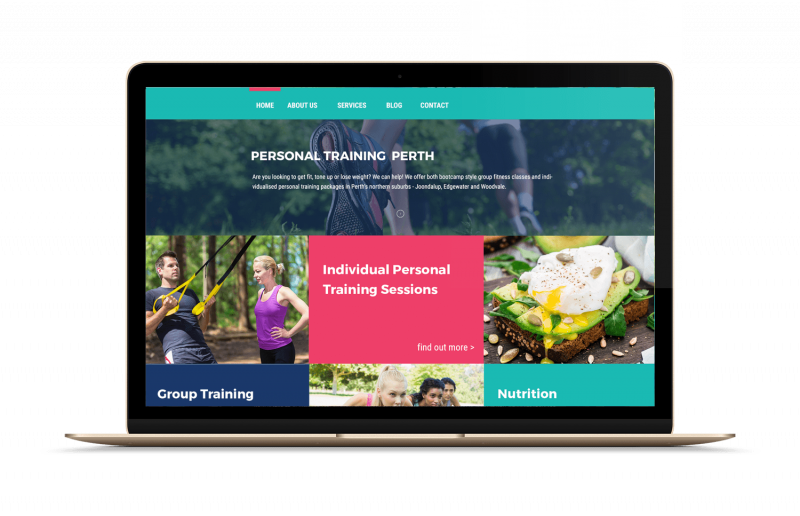 personal trainer website compressor